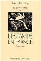Dictionnaire de l'estampe