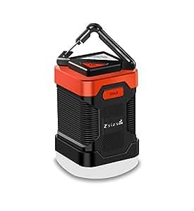 Zsizs LED ランタン USB充電式ランタン 10000mAh モバイルバッテリー 5調光モード 連続点灯200時間 IP65防水&防塵 携帯便利 多機能テントライト アウトドア&キャンプ用品 震災 津波 停電 緊急対策 キャンプライト