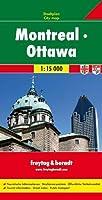 Montreal - Ottawa Map 1:15 000