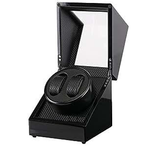 ワインディングマシーン 高級ウォッチワインダー 2本巻き/4本巻き/4本巻き+6本収納 静音設計 自動巻き レディース メンズ時計対応
