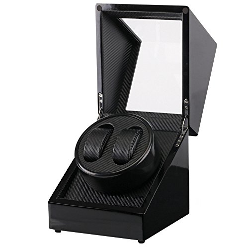 [해외]Kakuma 와인 고급 시계 와인 더 2 개의 권선 | 4 개의 권선 저소음 자동식 여성~ 남성 시계 지원/Kakuma Winding Machine Fine watch winder 2 windings | 4 winding quiet design Automatic winding ladies~ men`s watch correspondence