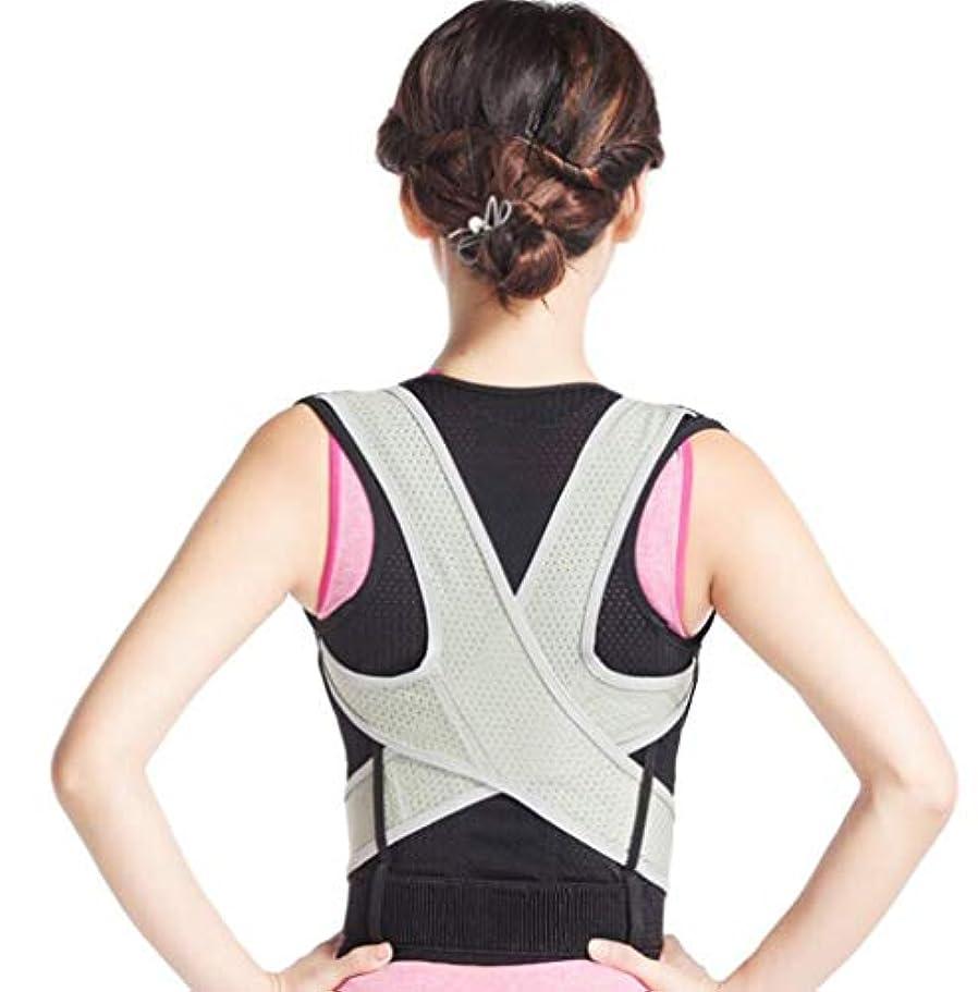 姿勢矯正装置調節可能なバックブレース服の下の専門医療整形外科は肩の痛みを伸ばすことができます