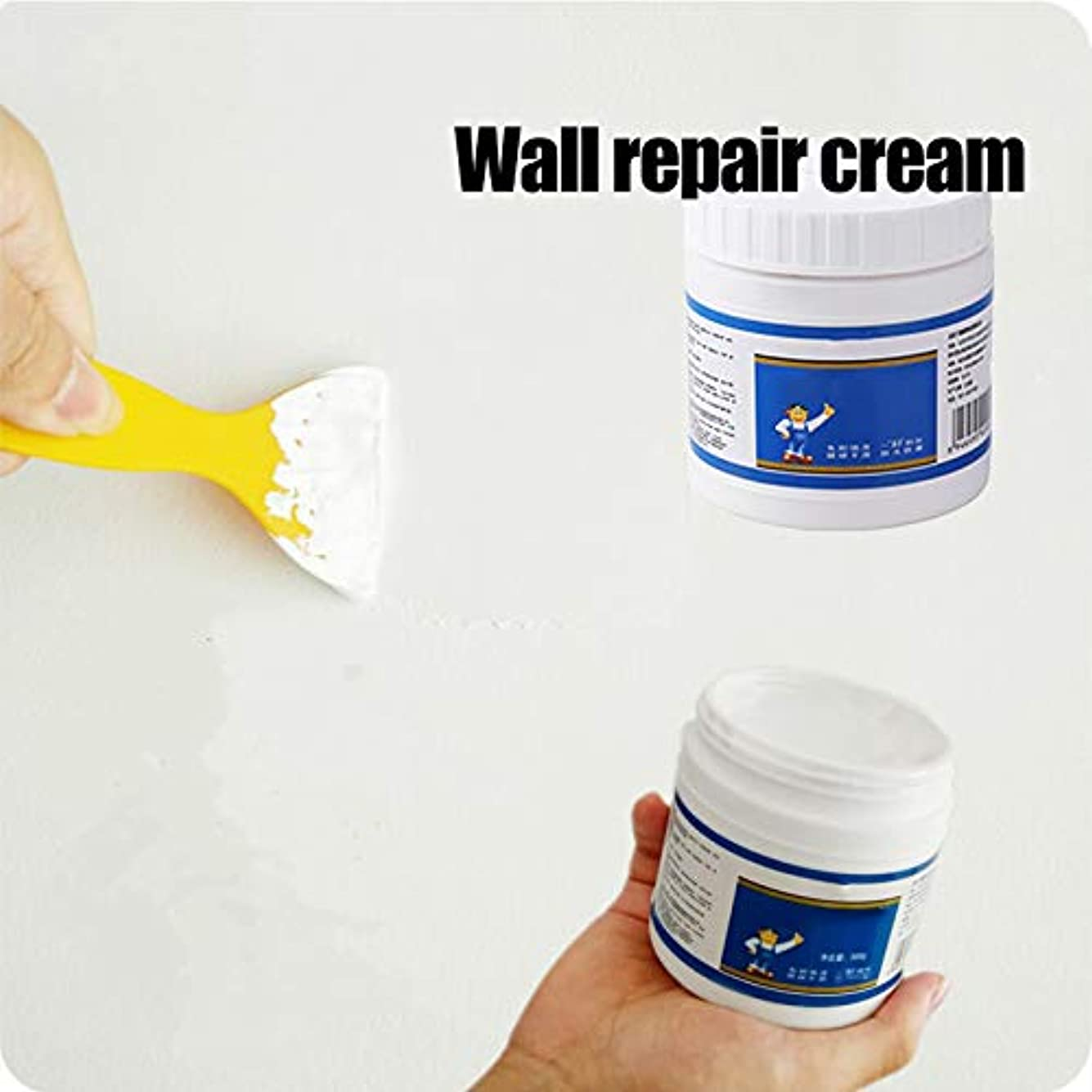 個人的に消化好意Aylincool壁修理クリーム、壁亀裂修理クリーム、ラテックスペースト防水非腐食性ホルムアルデヒドペーストラテックス