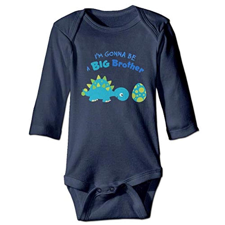 銀河ソフィーコインランドリービッグブラザー恐竜ベビーボディースーツおかしいOnesie長袖衣装コスチューム、2T