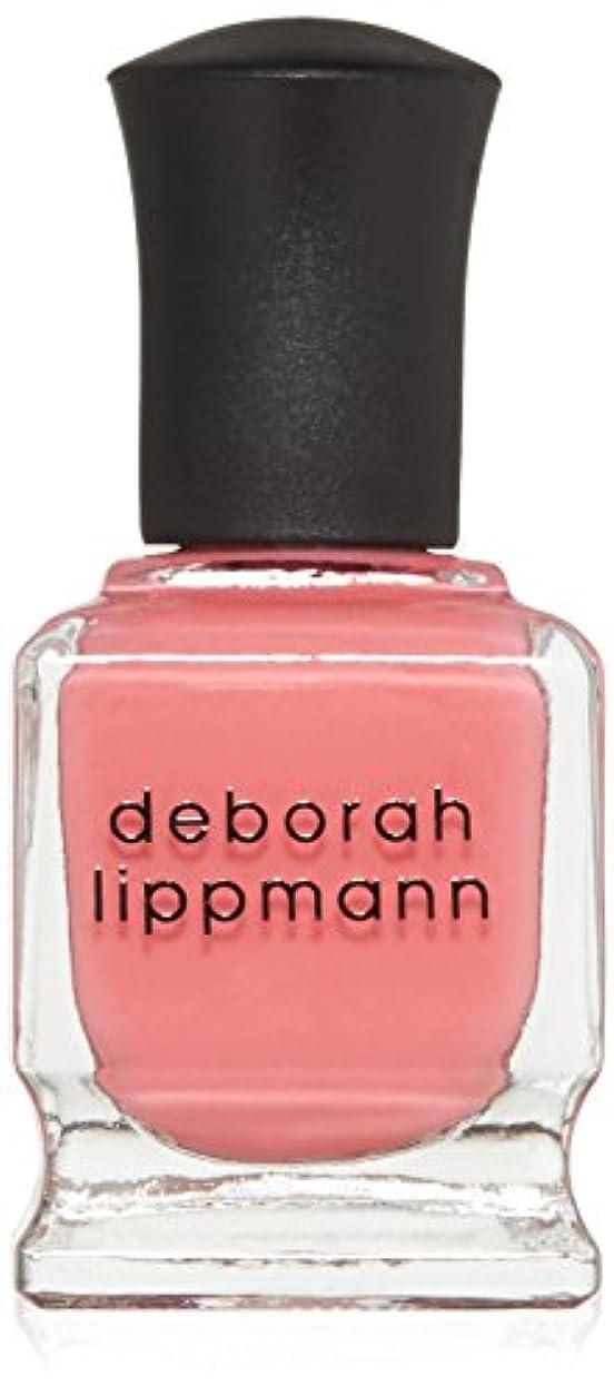 知恵気質ハグ【deborah lippmann】【デボラリップマン】ポリッシュ ピンク系 15mL (ブレイク フォー ラブ)