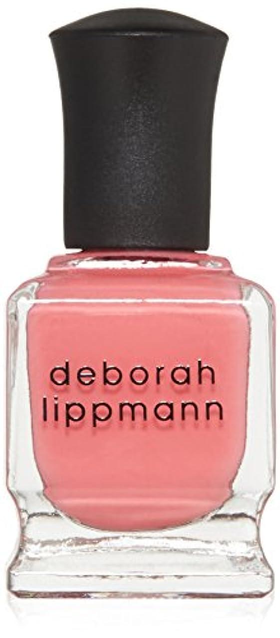 再集計報いるキノコ【deborah lippmann】【デボラリップマン】ポリッシュ ピンク系 15mL (ブレイク フォー ラブ)