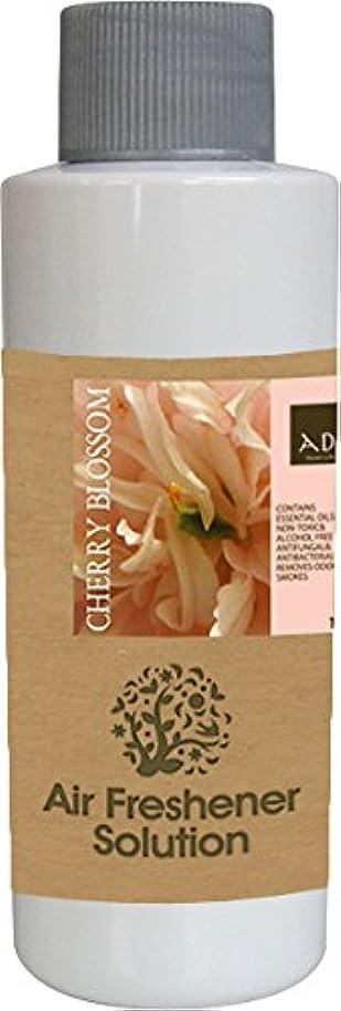 肥沃な貼り直すマーケティングエアーフレッシュナー 芳香剤 アロマ ソリューション チェリーブロッサム 120ml