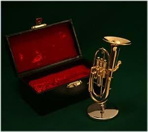 飾り物 ミニチュア楽器 バリトン 1/6サイズ