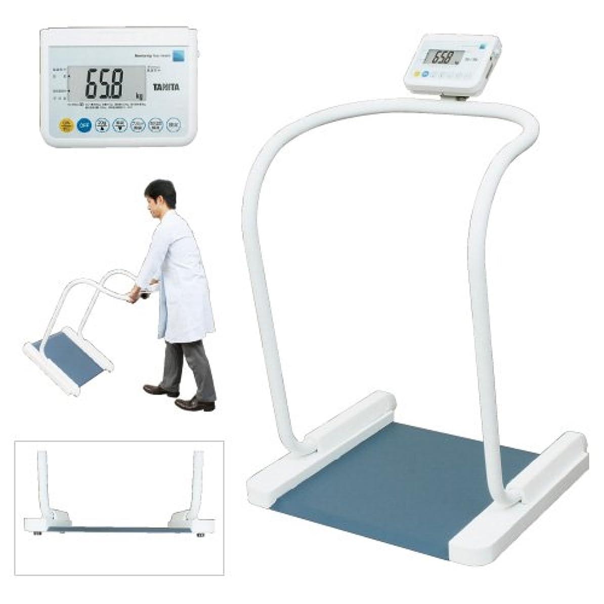 革命的雑品再生可能ハンドレール付体重計(検定品) PH-550A(RSツキ) 13区仕様 タニタ