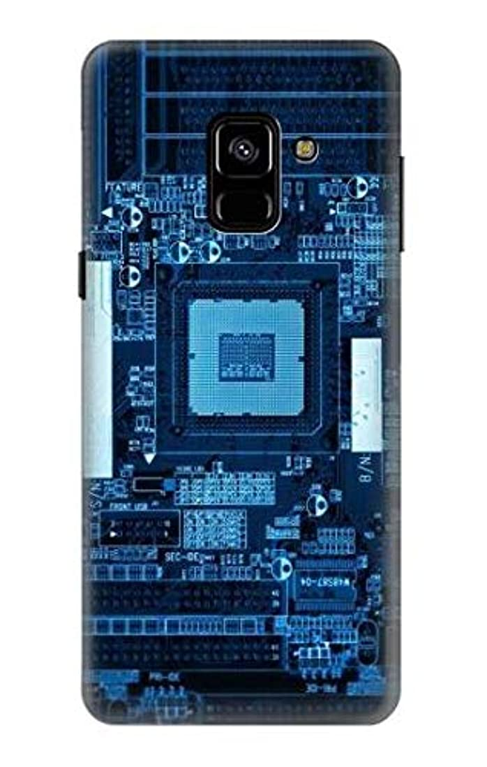事故協力する掘るJP1814A88 マザーボード CPU Motherboard Samsung Galaxy A8 (2018) ケース