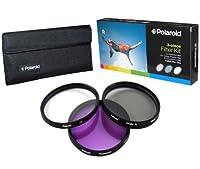Polaroid Optics 82mm 3 Piece Filter Set (UV, CPL, FLD) [並行輸入品]