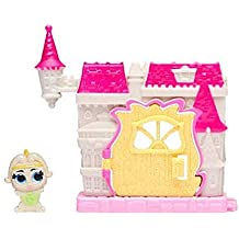 Disney Doorables Mini Playset - Beauty and The Beat Chateau Castle with Exclusive Wardrobe Figure