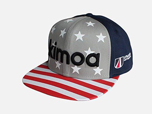 [해외]페르난도 알론소 2018 년 공식 DAYTONA 24hours KIMOA 키모아 제 Hip-Hop 캡 모자 남성 new 신품/Fernando Alonso 2018 Official DAYTONA 24hours KIMOA Kimoa Hip-Hop cap hat Men`s new brand new