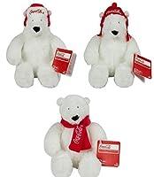 TOMY Coca-Cola 6 Bear Plush 3 Pack Plush [並行輸入品]