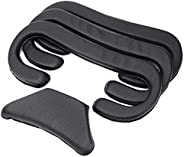 KIWI design VR Face Cover Replacement for HTC Vive Pro Headset Cover Foam Cushion 12mm/10mm/6mm with Cleaning