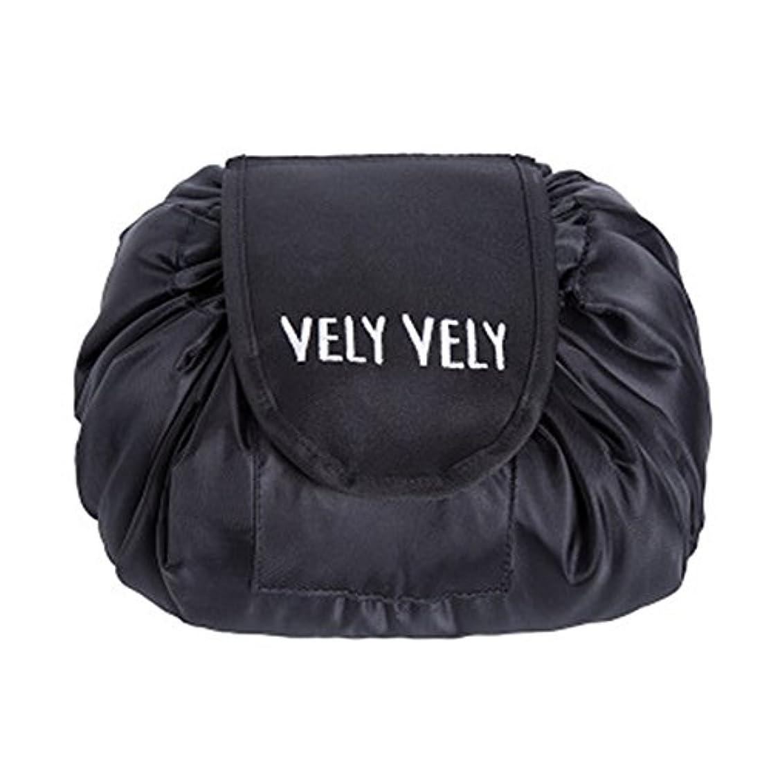 ピーク出血安心させるLittleliving 旅行メイクバッグ 旅行化粧バッグ メイク収納バッグ 化粧ポーチ 大容量 巾着 マジックふろしきポーチ