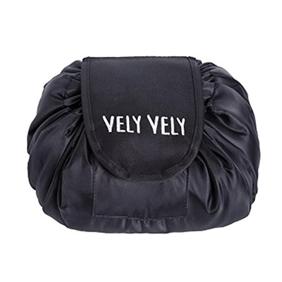 インターネットちなみに予言するLittleliving 旅行メイクバッグ 旅行化粧バッグ メイク収納バッグ 化粧ポーチ 大容量 巾着 マジックふろしきポーチ