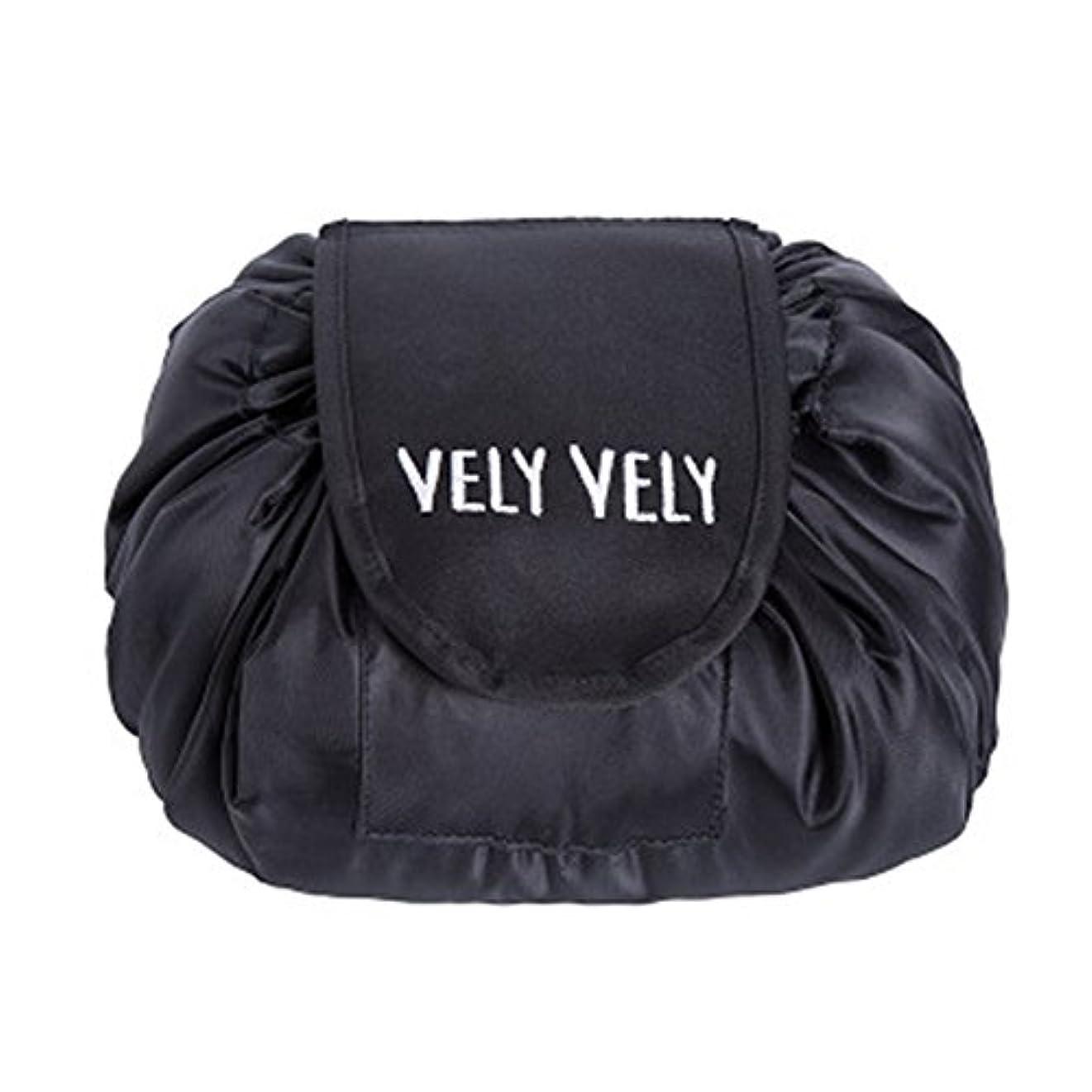 徴収気怠い葡萄Littleliving 旅行メイクバッグ 旅行化粧バッグ メイク収納バッグ 化粧ポーチ 大容量 巾着 マジックふろしきポーチ