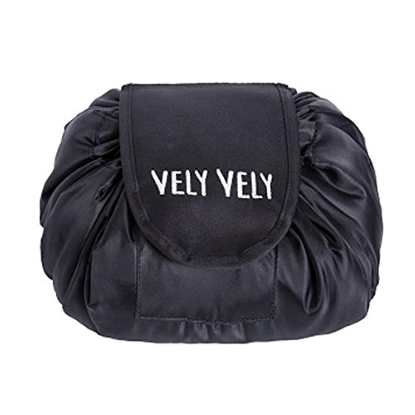 この自分を引き上げる幸運Littleliving 旅行メイクバッグ 旅行化粧バッグ メイク収納バッグ 化粧ポーチ 大容量 巾着 マジックふろしきポーチ