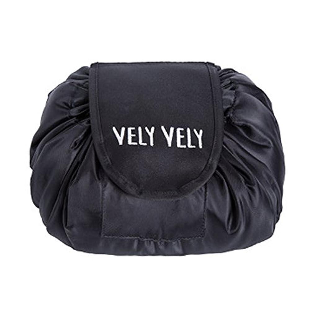 タブレット息を切らして割り当てますLittleliving 旅行メイクバッグ 旅行化粧バッグ メイク収納バッグ 化粧ポーチ 大容量 巾着 マジックふろしきポーチ