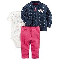 Carter's.®. Baby Girls 3-Piece Set - Jacket, Bodusuit, Pants