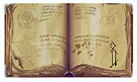 Spellbook Playmat by Inkedゲーム/ Perfect for MTG、Pokemon、およびYugiohゲーム。MTGゲームPlaymatします。Yourスタイル。