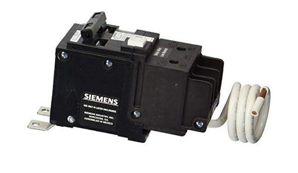 Siemens BF215 15-Amp Double Pole 120//240-Volt 10KAIC Ground Fault Circuit interrupter