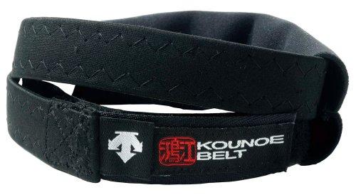 DESCENTE(デサント) 膝サポーター KOUNOE BELT コウノエベルト ブラック DAT-8103 Mサイズ 左右兼用 1本入り
