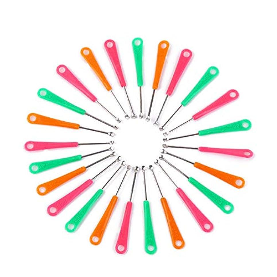 十億リルデイジー1st market プレミアム品質20ピースレッドグリーンイエロープラスチックグリップメタルイヤーピースイヤーキュレット