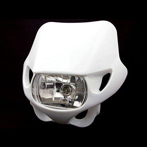 Big-One(ビッグワン) ヘッドライト カウル マスク ウィンカー 汎用 白 18251