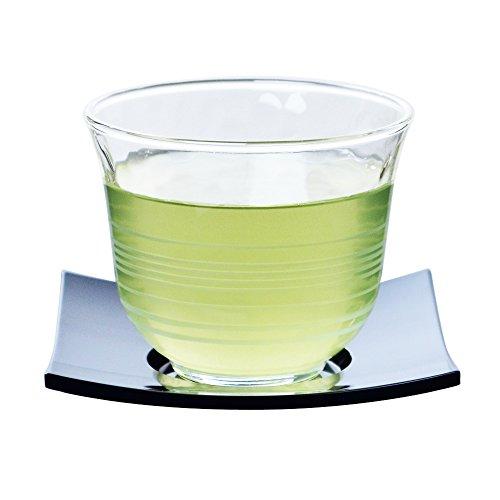 冷茶 グラス 茶托 セット 夏景色 5客 ソーサー 食洗機対応 170ml G053-T160