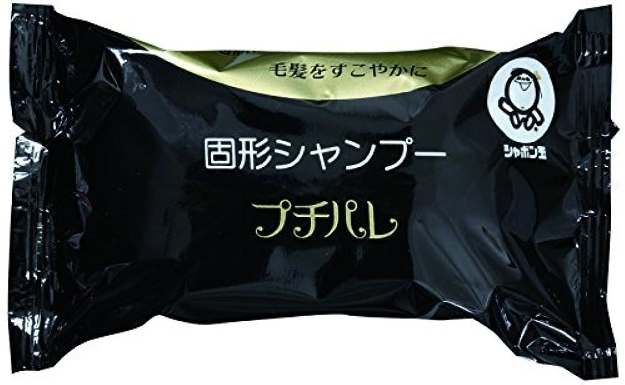溶けた壊れた知覚できるシャボン玉 固形シャンプー プチパレ 100g(石鹸シャンプー) ?おまとめセット【6個】?