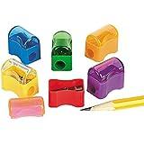 プラスチック製鉛筆研ぎ お徳用パック (72個) (並行輸入)