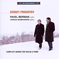 Prokofiev: Complete Works for Violin & Piano (2010-04-27)