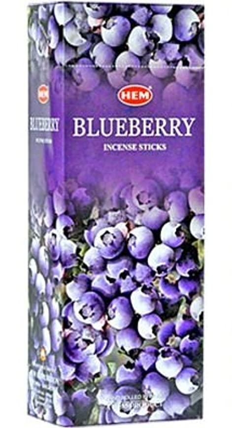 変形するコンピューターの間にBlueberry - Box of Six 20 Stick Tubes, 120 Sticks Total - HEM Incense by HEM 6 Pack 20 Stick