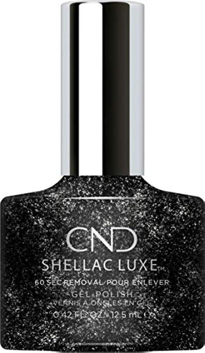 酸度試みる肉のCND Shellac Luxe - Dark Diamonds - 12.5 ml / 0.42 oz