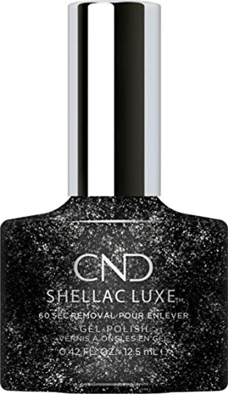 公影のある回復CND Shellac Luxe - Dark Diamonds - 12.5 ml / 0.42 oz