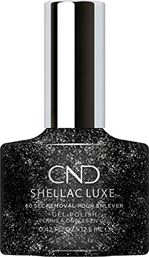 ずらす応答矢CND Shellac Luxe - Dark Diamonds - 12.5 ml / 0.42 oz
