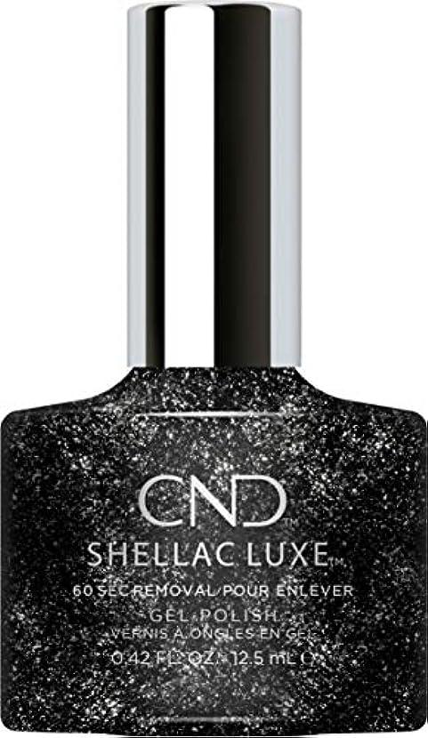 ただやる堤防会議CND Shellac Luxe - Dark Diamonds - 12.5 ml / 0.42 oz