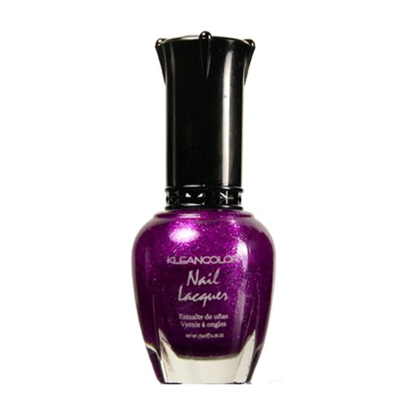 ロッジ引き算立場(6 Pack) KLEANCOLOR Nail Lacquer 4 - Sparkling Grapes (並行輸入品)
