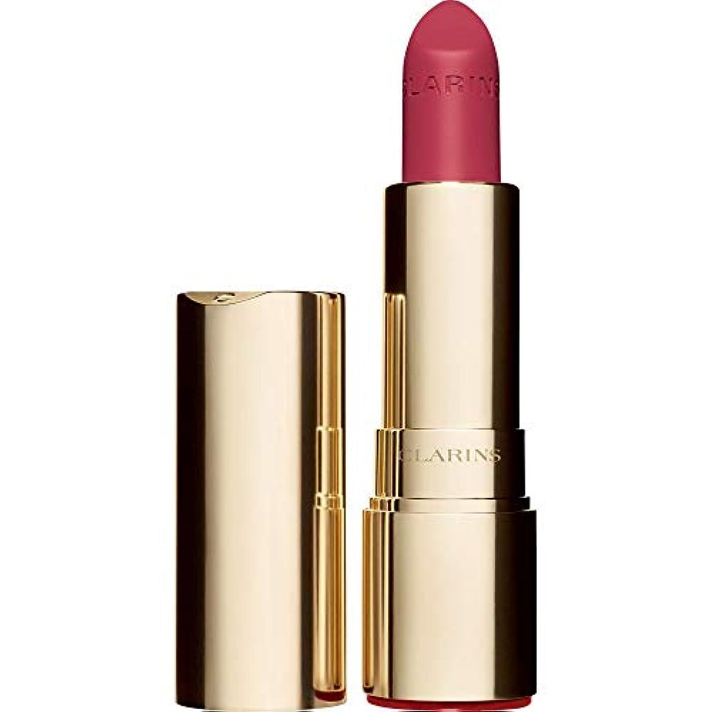ドール衣服ストローク[Clarins ] クラランスジョリルージュのベルベットの口紅3.5グラムの756V - グアバ - Clarins Joli Rouge Velvet Lipstick 3.5g 756V - Guava [並行輸入品]