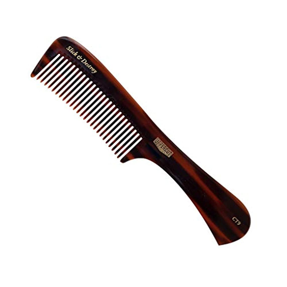 上昇終了する人気のUppercut Deluxe CT9 Styling Comb - # Tortoise Shell Brown 1pc [並行輸入品]