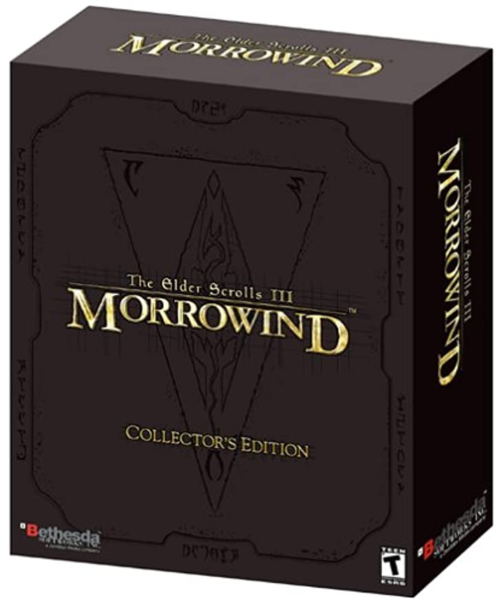 エアコン誘惑森林The Elder Scrolls 3: Morrowind, Collector's Edition (輸入版)