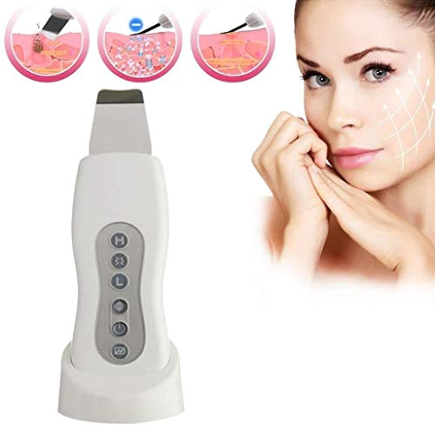 熟練したから変装黒ずみを取り除くための顔の皮膚のスクラバーポータブル顔のスクラバーのスキンケアの皮のしわの取り外し機械洗剤の美顔装置