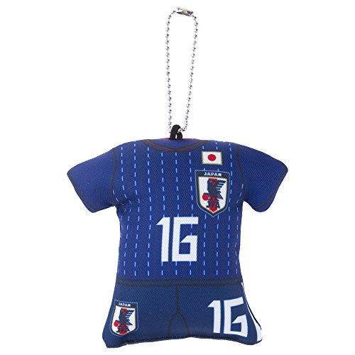[해외]JFA 축구 일본 대표 2018 년 유니폼 쿠션 매력 스트랩 야마구치 호타루 No.16 O-192/JFA soccer Japan national team 2018 uniform cushion charm strap Yamaguchi firefly No.16 O-192