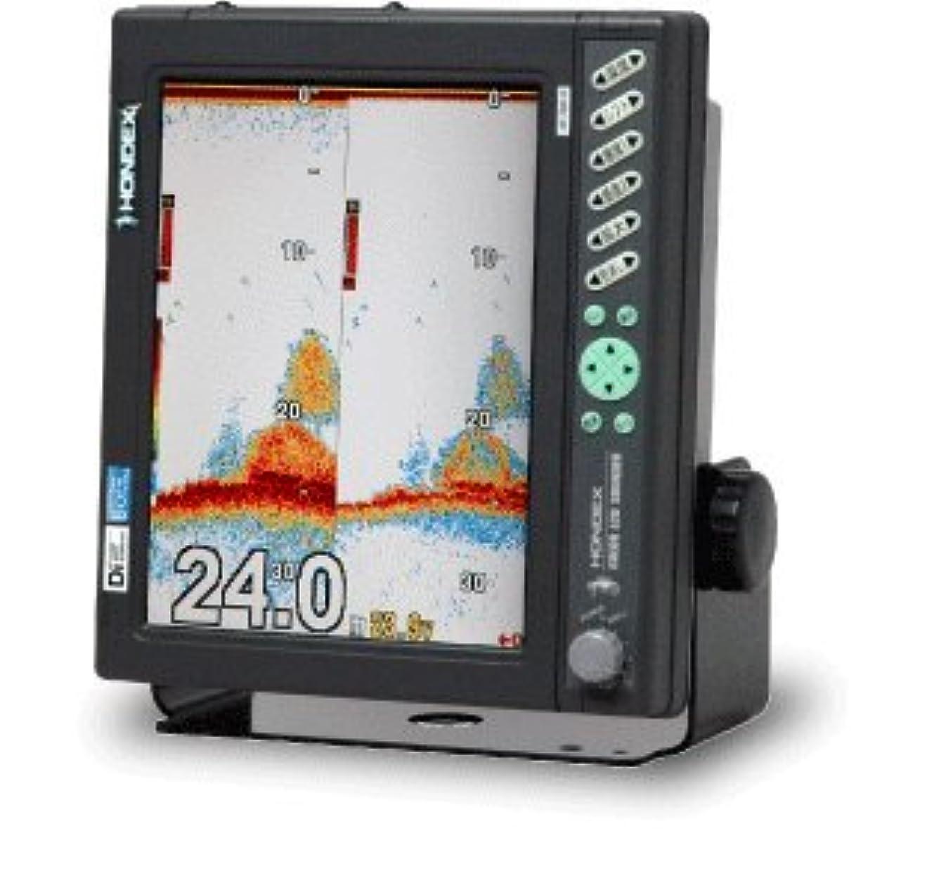 目立つ日付付き緊張HONDEX(ホンデックス) 10.4型カラー液晶デジタル魚探 HE-7300-Di-Bo 2.5kW 32/40,40/75,50/55,85/90kHz
