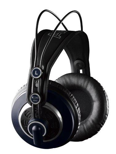 AKG プロフェッショナルスタジオモニター・セミオープンヘッドフォン K24...