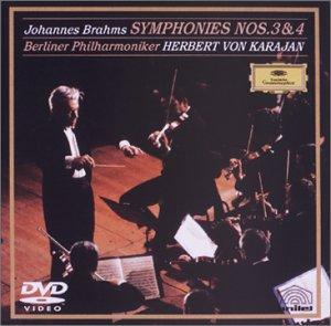 ブラームス:交響曲第3番ヘ長調/交響曲第4番ホ短調 [DVD]