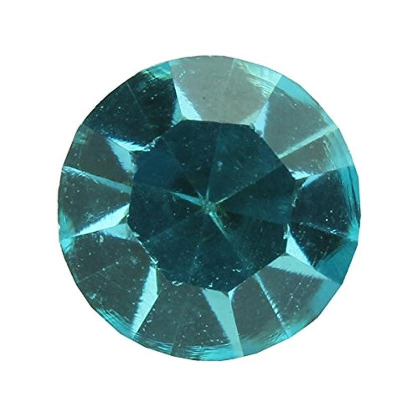 サンプル投げる先例アクリルストーンVカット ss12(約3.0mm)(30個入り) アクアマリン