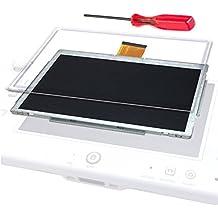 【SIMPS】高品質 WiiU 修理セット ゲームパッド 修理交換用 部品 液晶パネル & タッチパネル (Game pad 本体修理用) & 修理専用Y字ドライバーセット 「SIMPSオリジナル保証書付き」